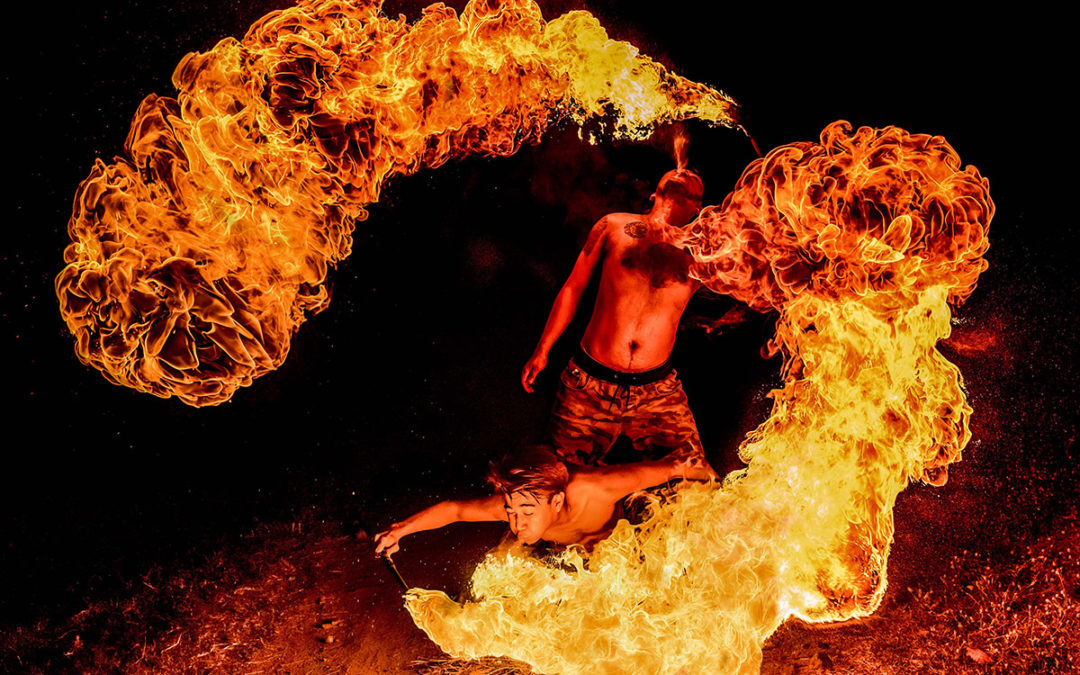 Fire and Water: The Yin and the Yang